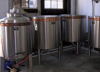 Brewery vats chatham